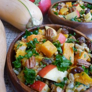 autumn barley butternut salad