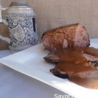 Sauerbraten (German Style Pot Roast)