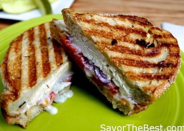 Chicken-and-Blue-Cheese-Panini