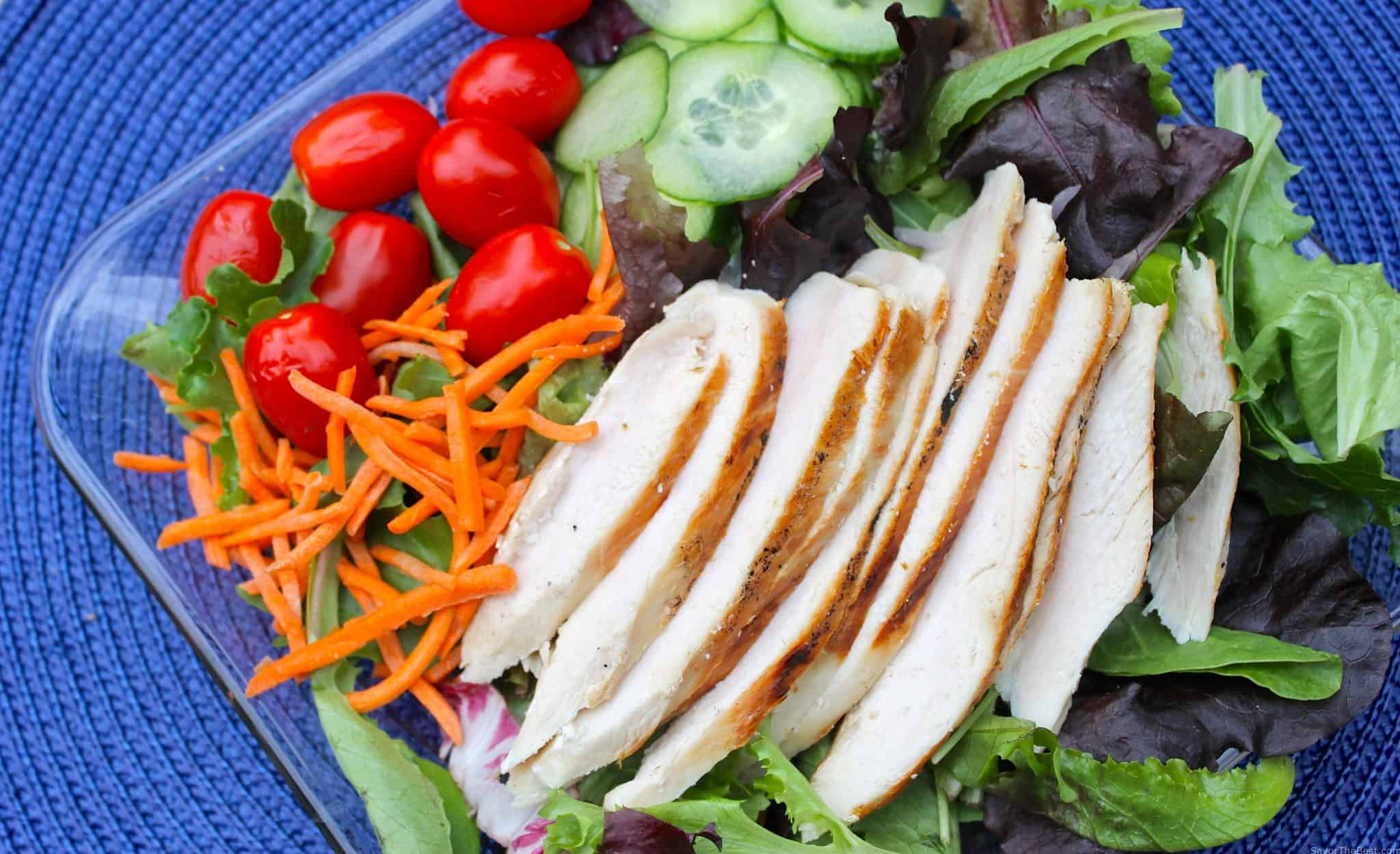 Chicken Salad With Tarragon Vinaigrette