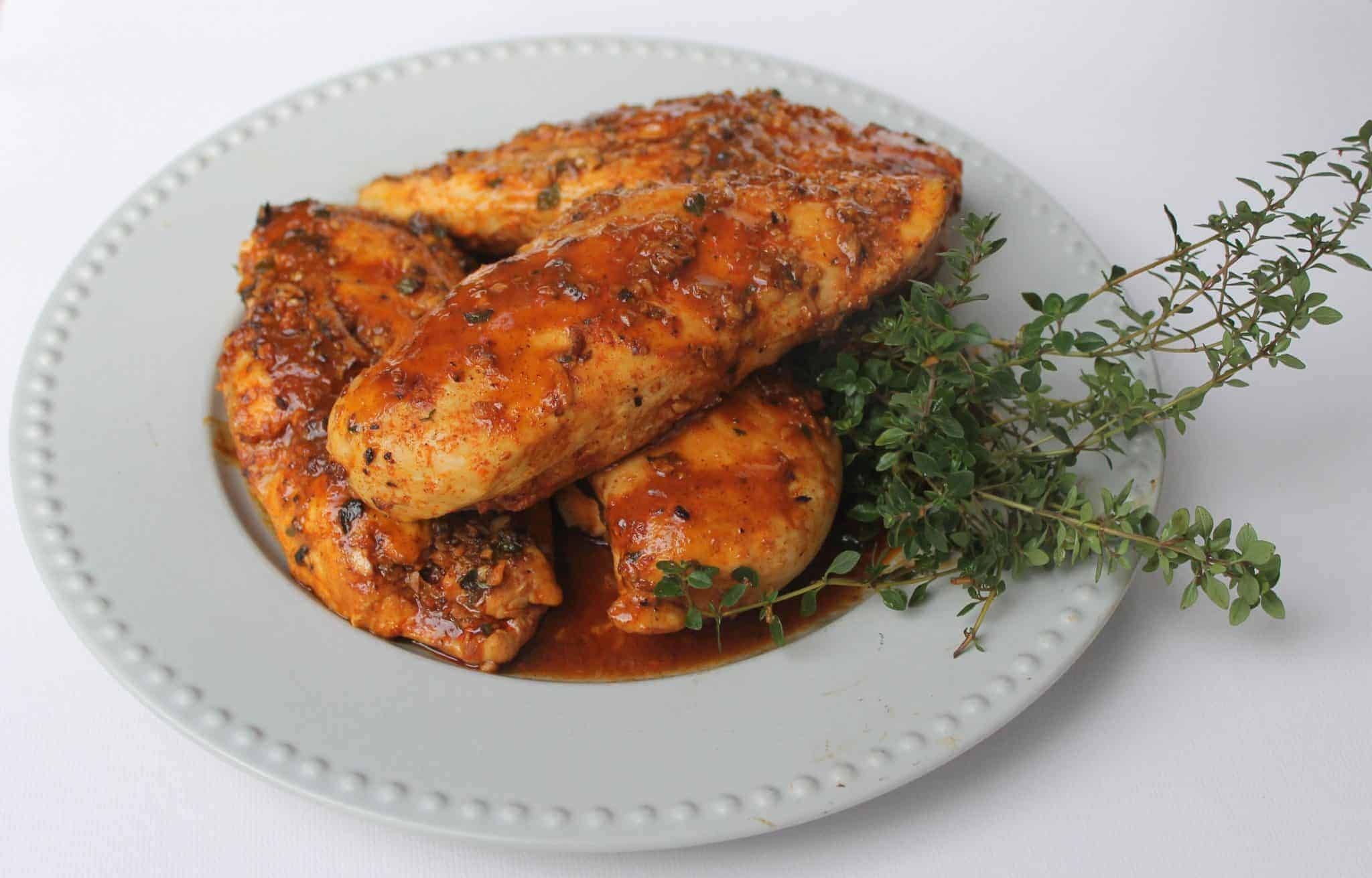 Garlic Chicken with Smokey Paprika