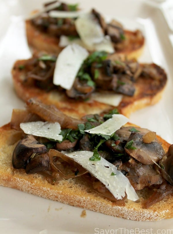 Balsamic Caramelized Onion And Mushroom Loaded Baked Potatoes Recipe ...