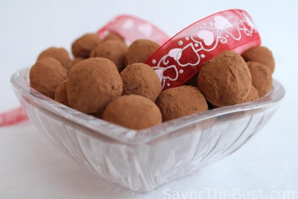 chocolate truffle balls