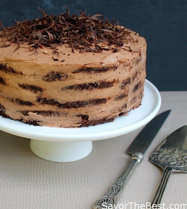 Recipe for mocha chocolate icebox cake