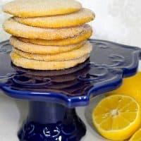 Crisp Triple-Lemon Cookies
