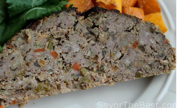 Pork and Beef Meatloaf