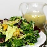Super-Foods Salad with a Lemon Honey-Mustard and Chia Seeds Dressing