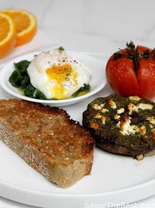 Great breakfast/brunch with lots of protein punch.
