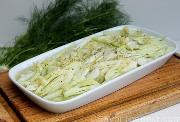 Braised Fennel with Parmesan Cheese