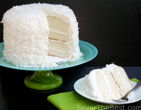 Coconut Flour Cake Moist