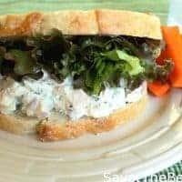 Rosemary Chicken Salad Sandwich