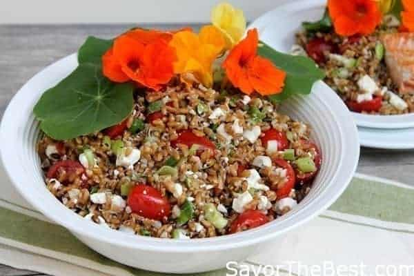 Toasted-Farro-Salad-with-Nasturtiums