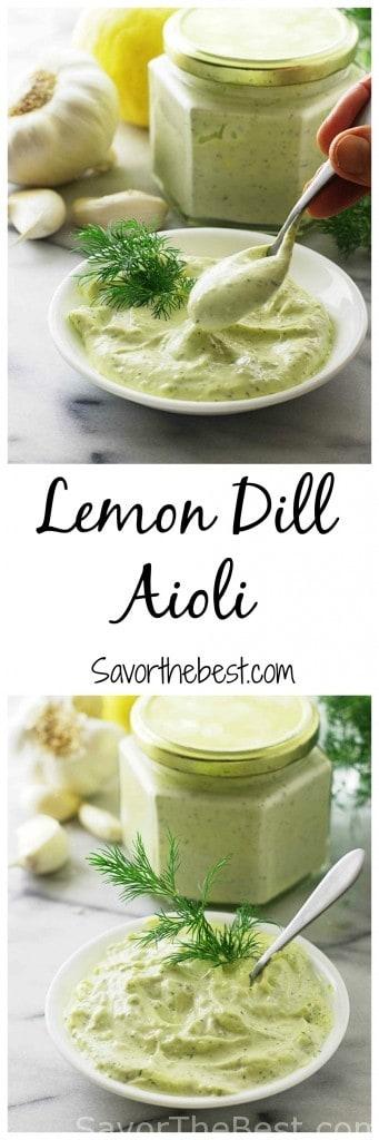 Lemon Dill Aioli sauce