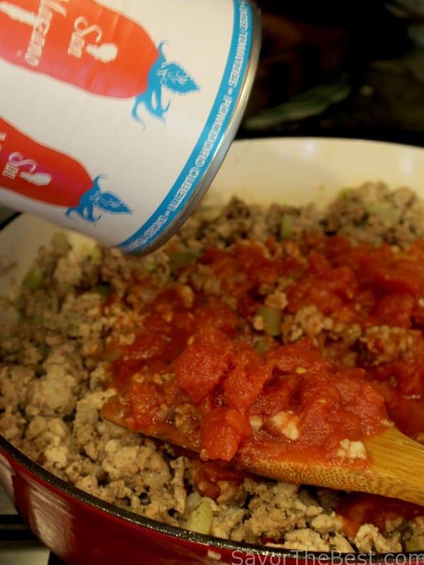 Meath tomato sauce for lasagna