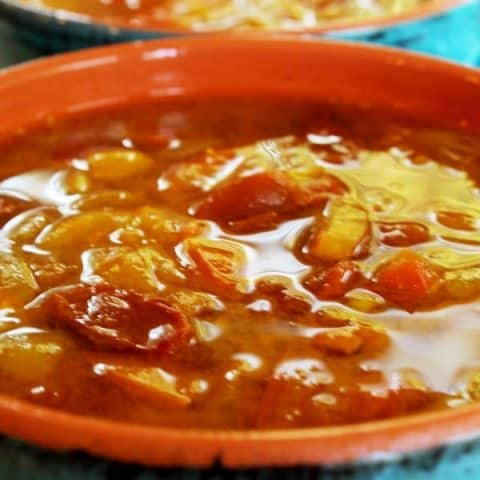 Spicy Tomato Fennel Soup