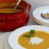 Roasted Butternut Ginger Soup