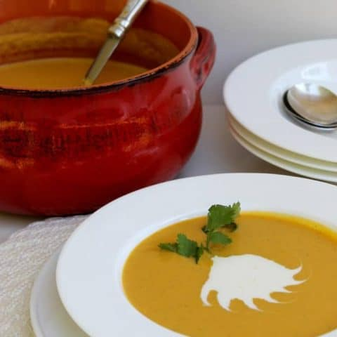 Roasted Butternut Ginger Soup