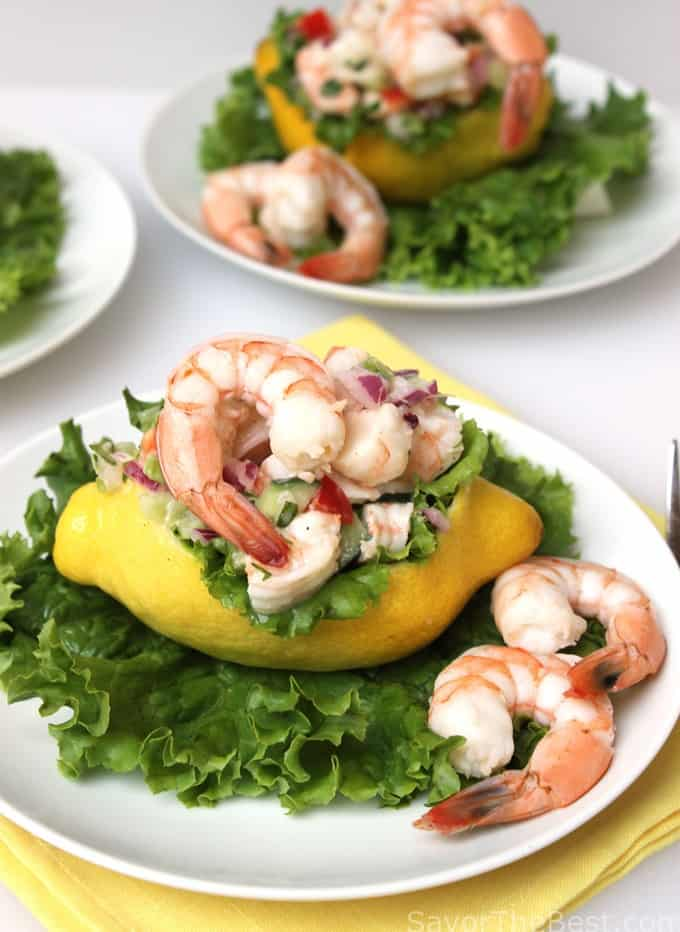 Lemon Shrimp Salad