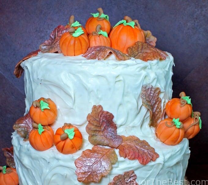 fall cake design