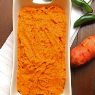 sweet potato jalepeno mash