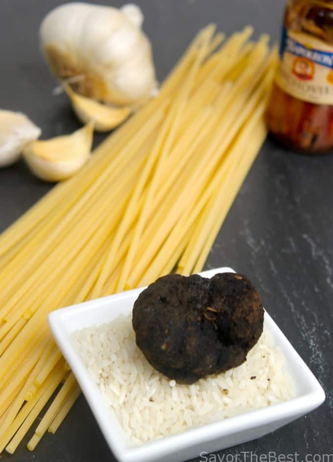 Pasta Strands with Black Truffle Sauce - Savor the Best