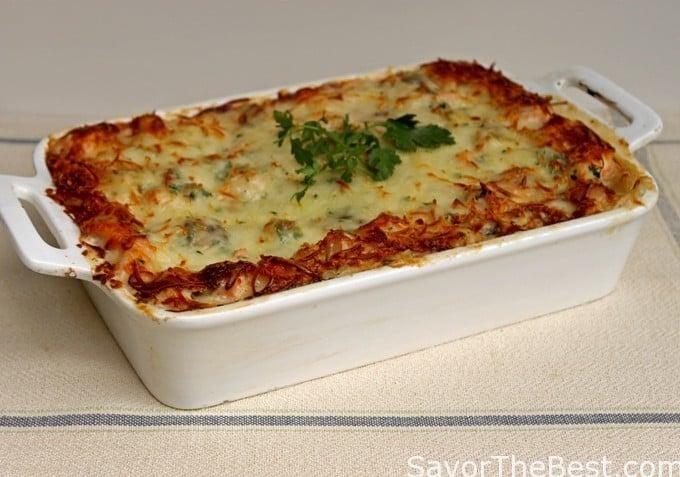 Seafood Lasagna - Savor the Best