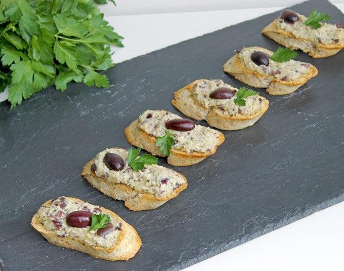 Artichoke-Olive Bruschetta
