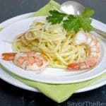 Lemon-Garlic Shrimp Linguini