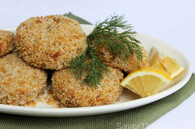 Baked Dungeness Crab Cakes Recipe
