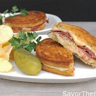 Hot Reuben Sndwich