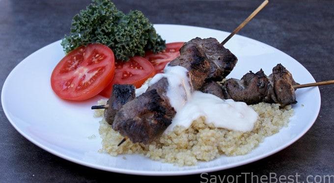 Grilled Lamb Kabobs