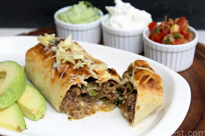 Shredded Beef Chimichangas - Savor the Best