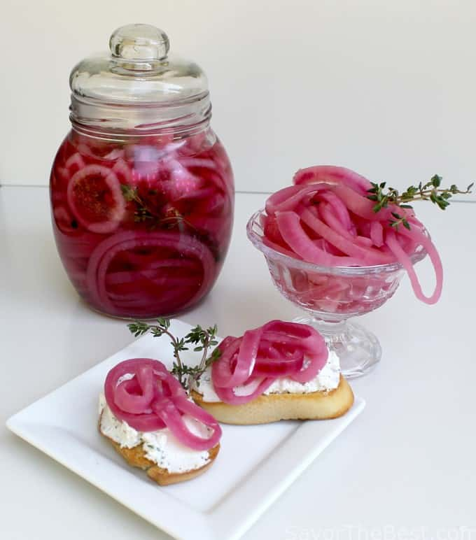 How To Make Pickled Red Onions Recipe — Dishmaps