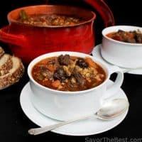 Chunky Beef-Barley Soup