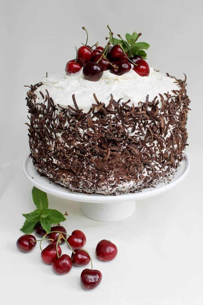 Black Forrest Cherry Cake