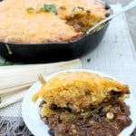 Salsa Verde Tamale Pie (One Skillet)