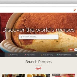 Yummly recipe search engine
