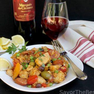 Chicken-Chorizo Paella