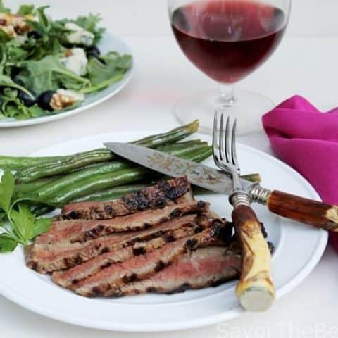 Sake-Soy Grilled Rib-Eye Steak