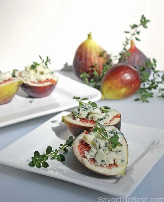 Figs and Gorgonzola