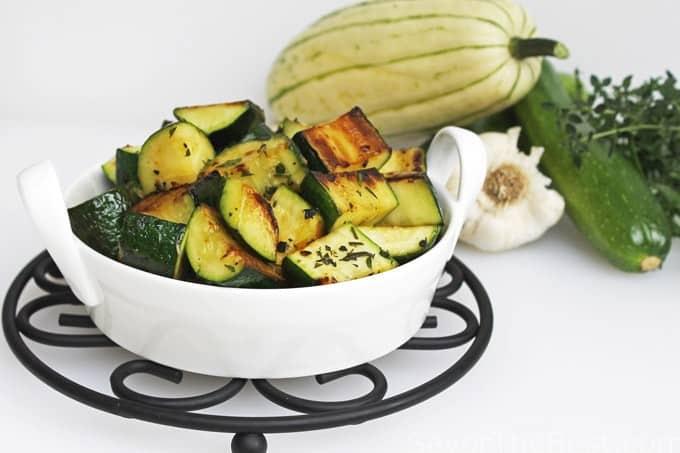 Zucchini-Herb Saute