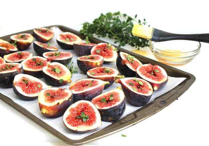 Honey-Thyme Roasted Fresh Figs