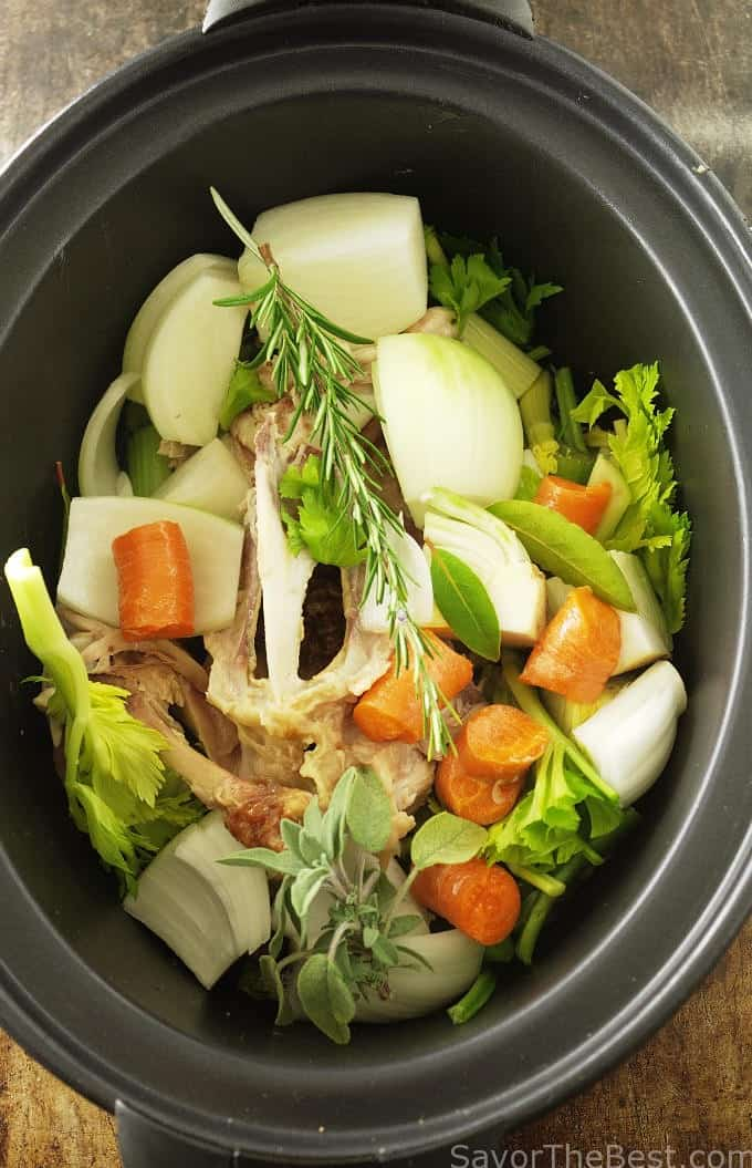 making bone broth