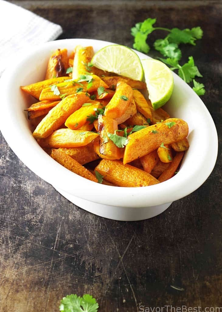 cilantro lime carrots