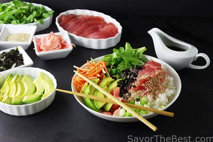 Ahi Tuna Grain Bowl
