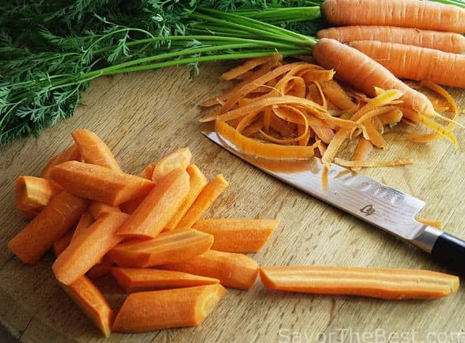 Roasted Cilantro-Lime Carrots