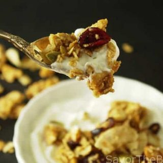 ancient grains apple cranberry granola