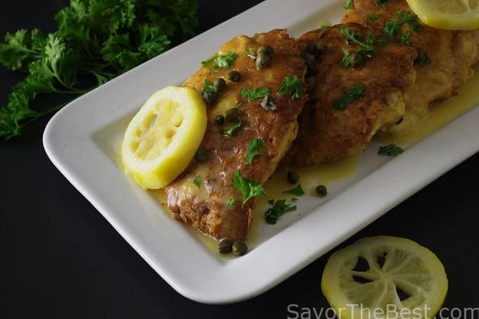 Lemon Chicken Piccata - Savor the Best