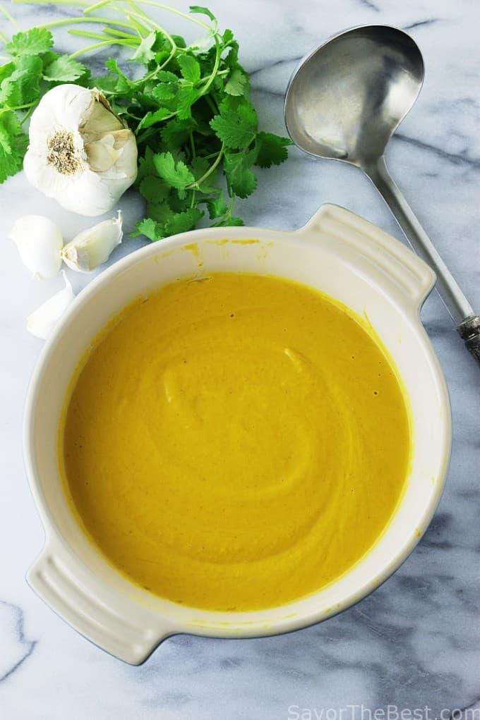 Butternut Curry Soup