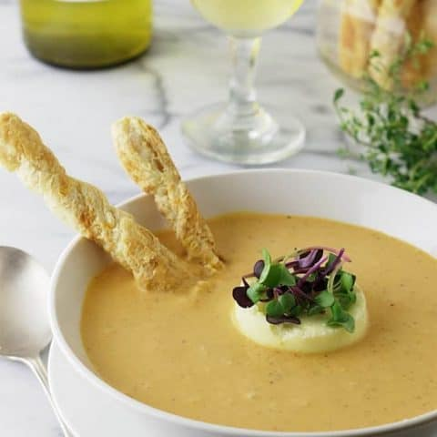 Roasted Tomato Garlic Soup